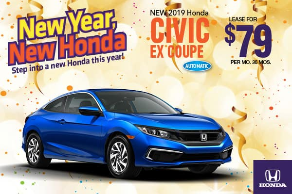 2019 Honda Civic EX Automatic Coupe