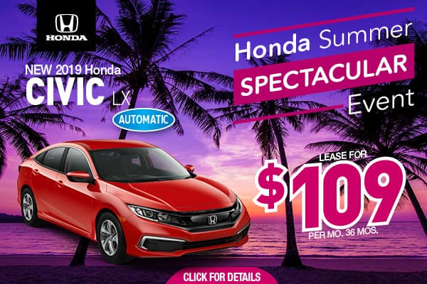 Honda Dealers Nj >> New Honda Special Offers Honda Dealer Near Toms River Nj