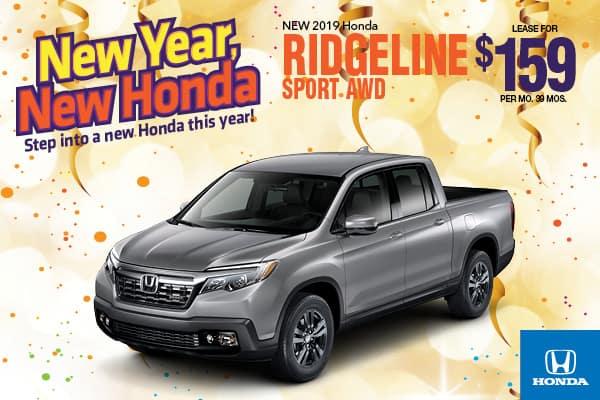 2019 Ridgeline Sport AWD