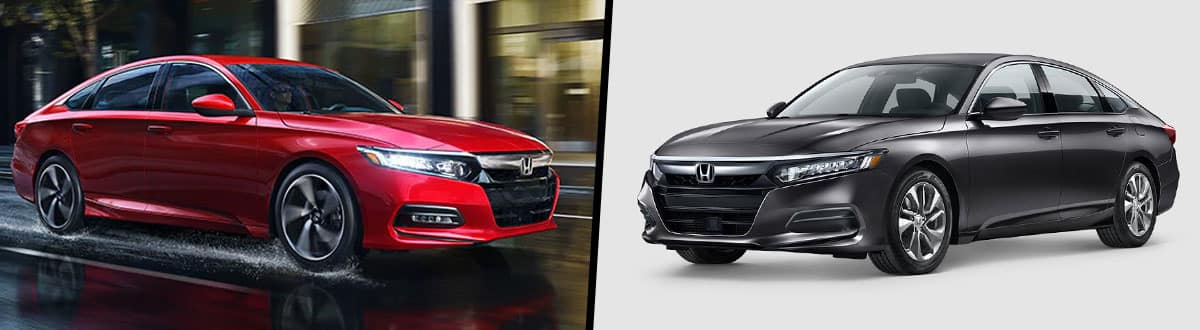2019 Honda Accord vs 2018 Honda Accord