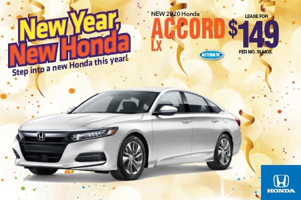 2020 Honda Accord LX Automatic Sedan