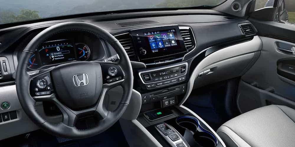 2021 Honda Pilot Front Interior