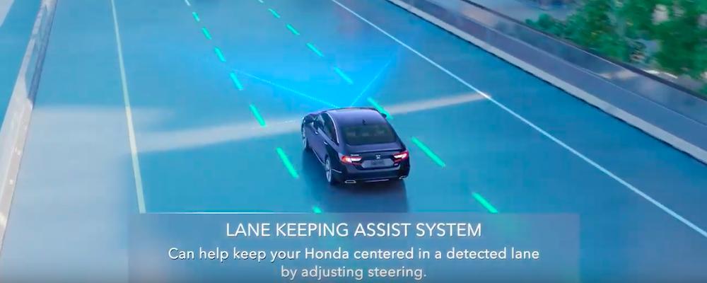 Lane Assist Keeping System