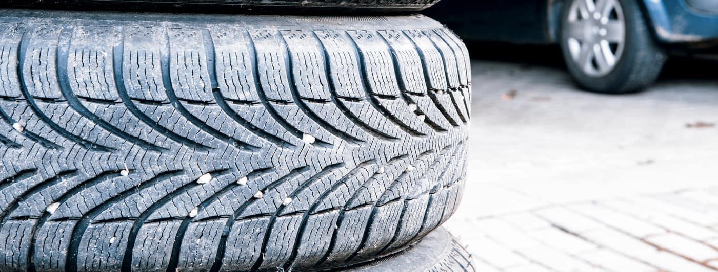 tires of a car