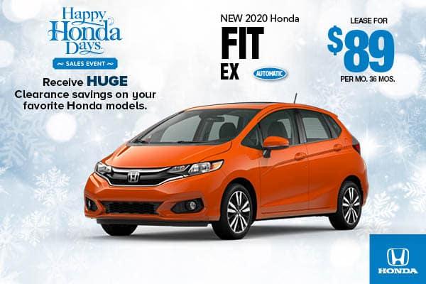 2020 Honda Fit EX Automatic
