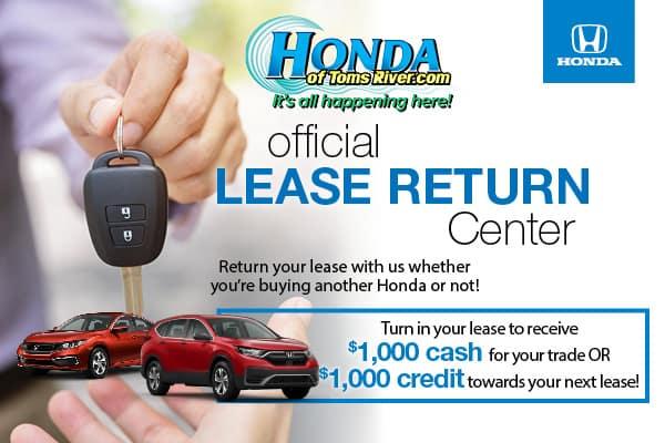 Official Lease Return Center