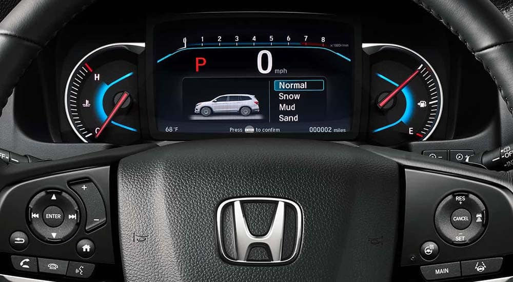 2019 Honda Pilot Steering Wheel
