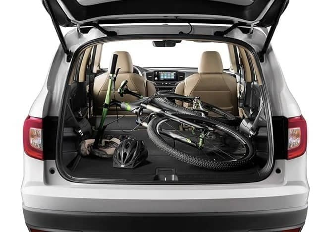 cargo space in 2020 Honda Pilot