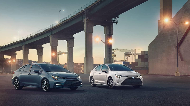 2020 Toyota Corolla Sedans