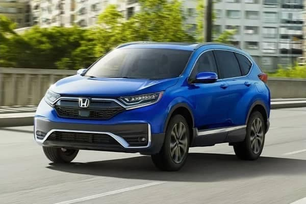 blue 2020 Honda CR-V
