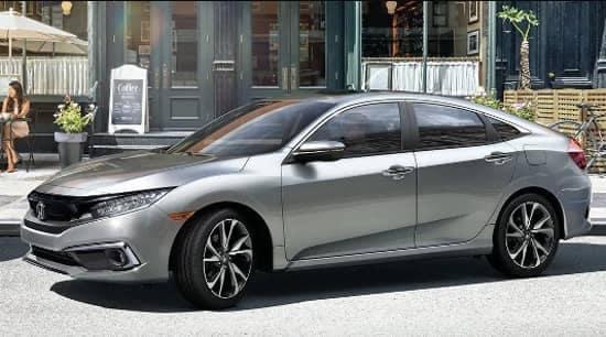 man parking 2020 Honda Civic