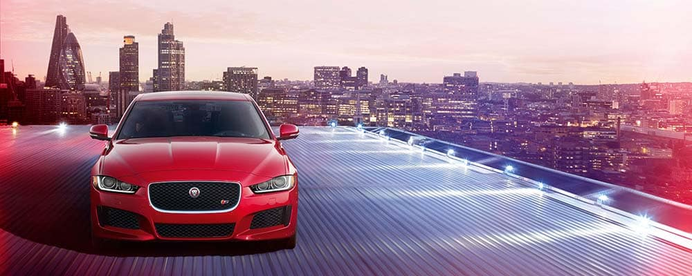 Jaguar XE On Roof