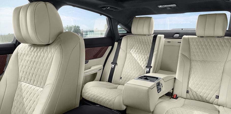 Leather Jaguar Seats