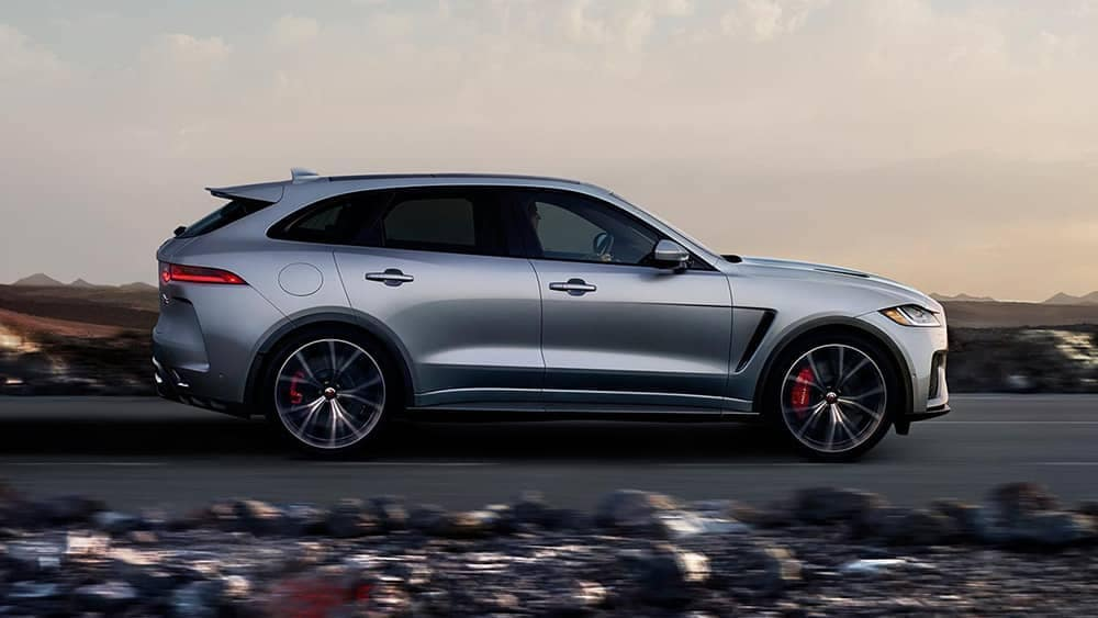 2019 Jaguar F-PACE side view
