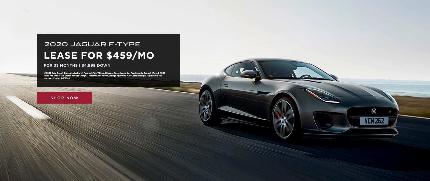 Lease 2020 Jaguar F-Type