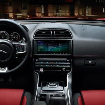 2019 Jaguar XE view of the dashboard
