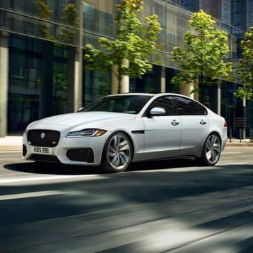 2019 Jaguar XF luxury sedan exterior