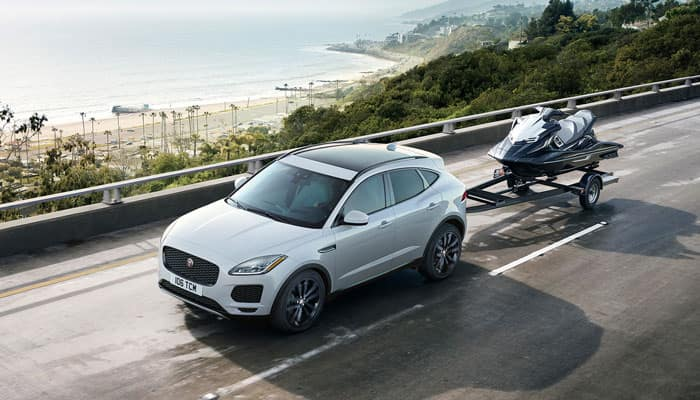 2019 Jaguar E-PACE Towing Jet Ski