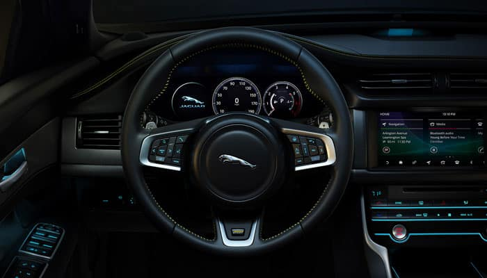 2019 Jaguar XF Dashboard Driver View