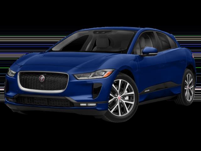 Blue Jaguar I-PACE