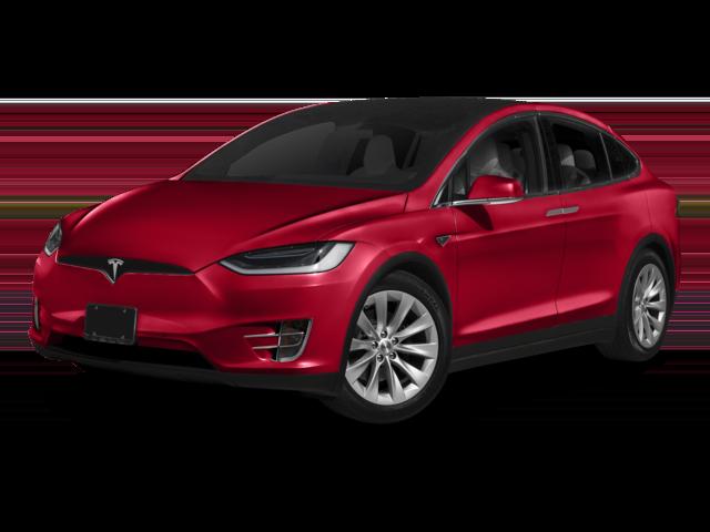 2018 Red Tesla Model X