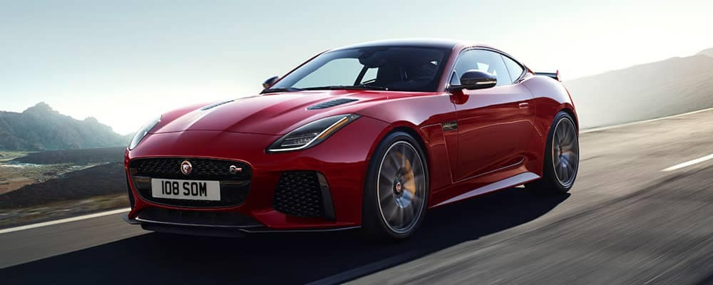 2020 Jaguar F-Type Driving