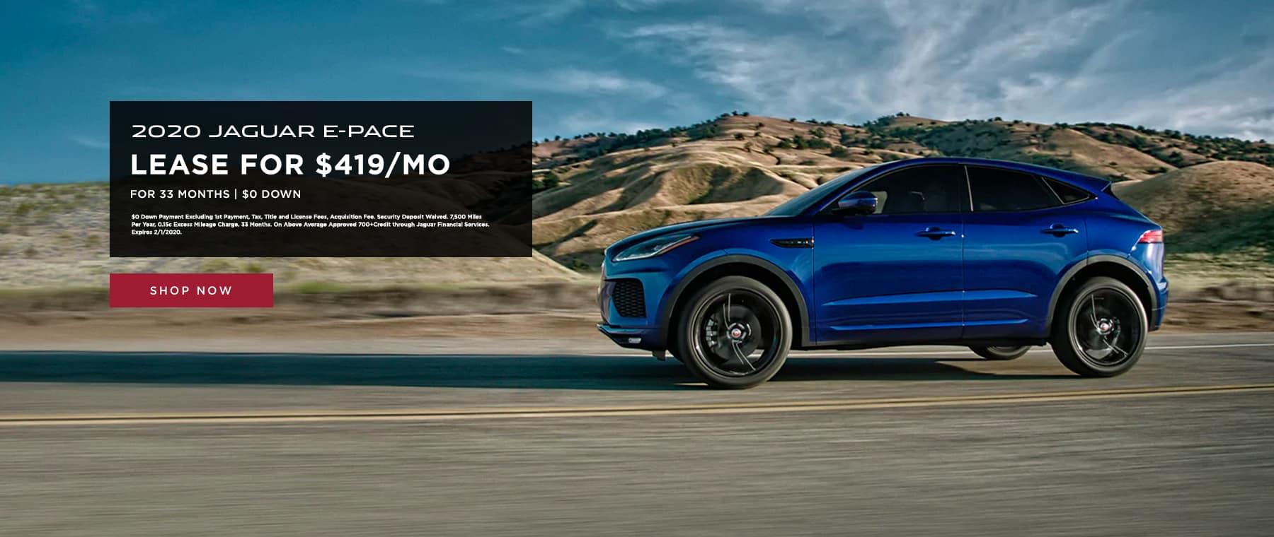 Lease 2020 Jaguar E-Pace