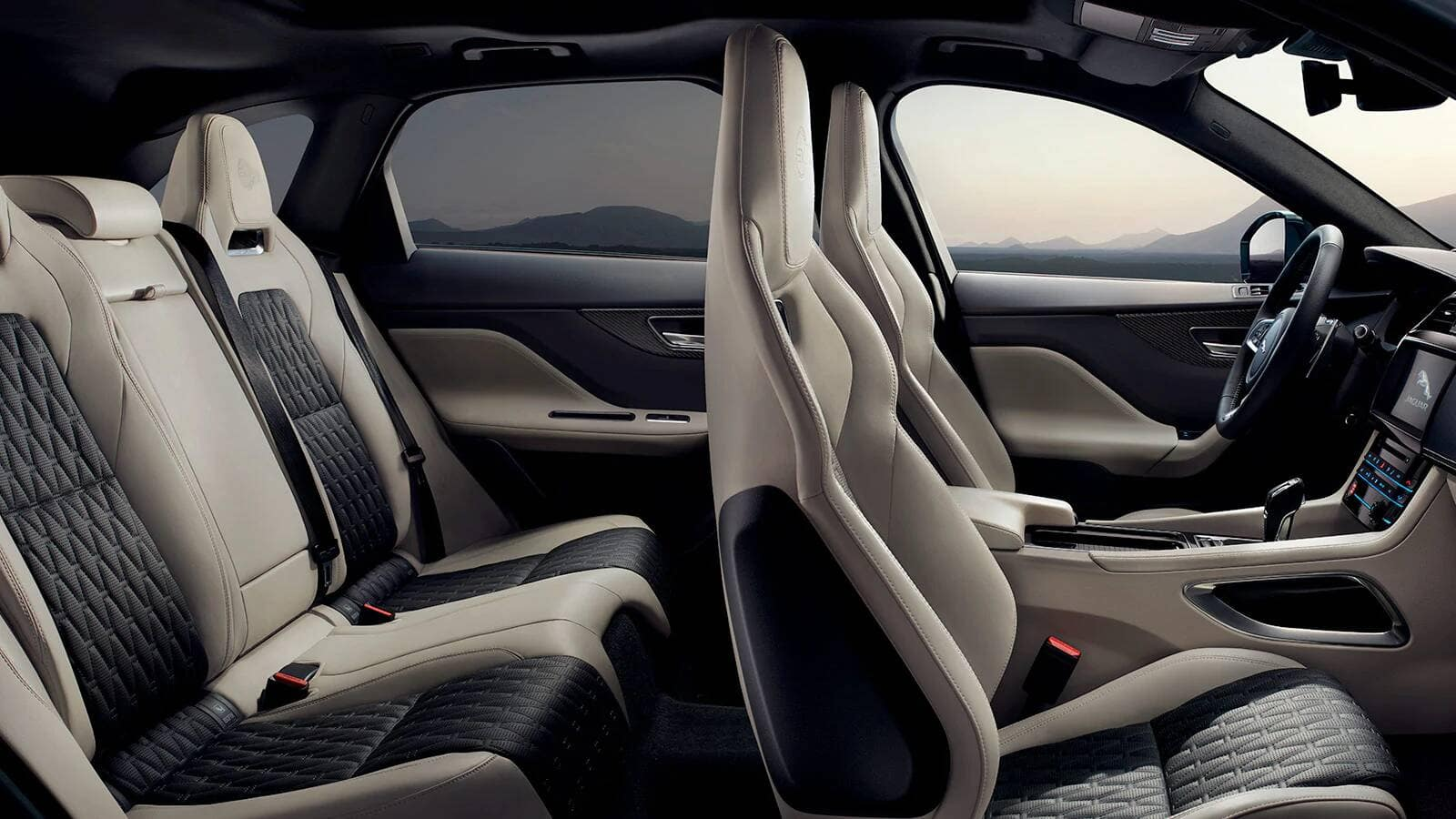 2020 Jaguar F-PACE Seating Capacity