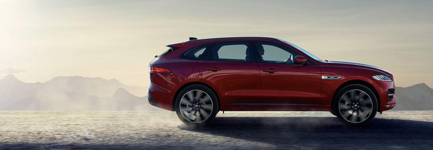 2020 Red Jaguar F-PACE