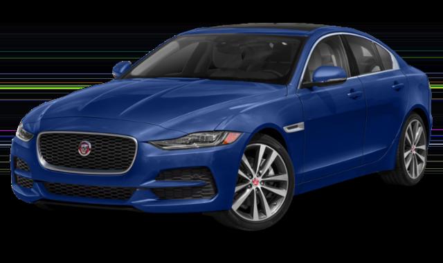 2020 Blue Jaguar XE