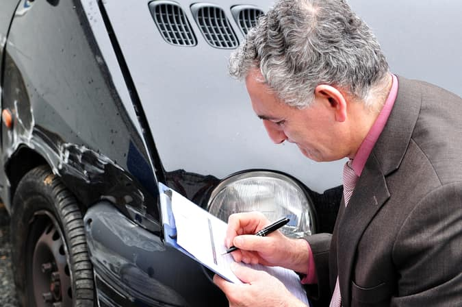 car insurance and car dent