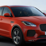 2020 red Jaguar E-PACE