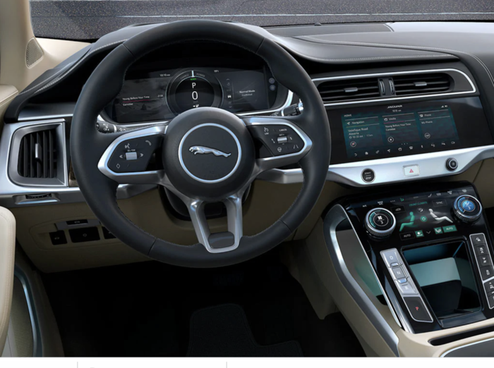 I-PACE steering wheel