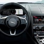 2021 jaguar f-type interior