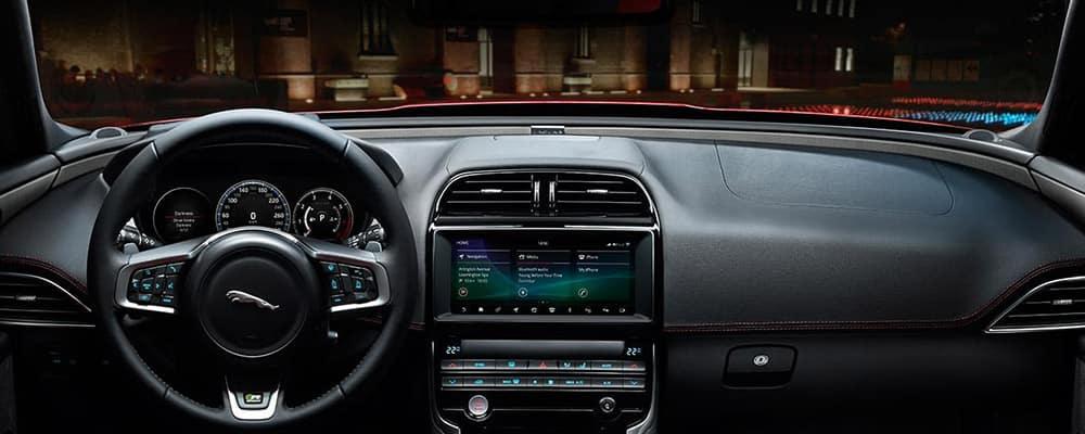 2019 Jaguar XE Interior dashboard banner