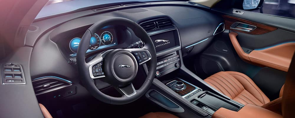 2019 Jaguar F-PACE Interior Driver View
