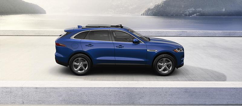2019 Jaguar F-Pace Caesium Blue Metallic