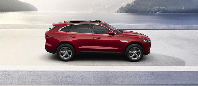 2019 Jaguar F-Pace Firenze Red Metallic