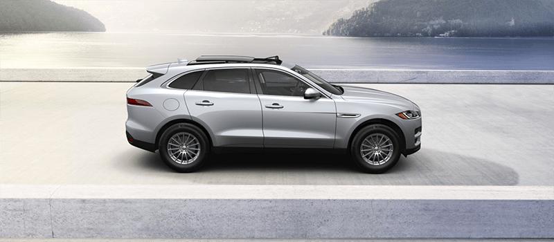 2019 Jaguar F-Pace Industrial Silver Metallic