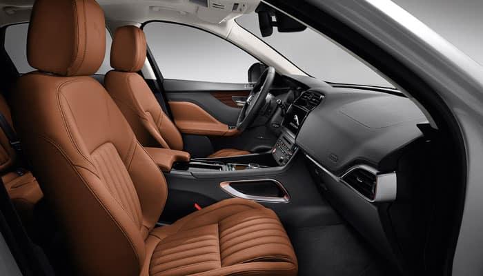 2019 Jaguar F-PACE Interior Passenger View