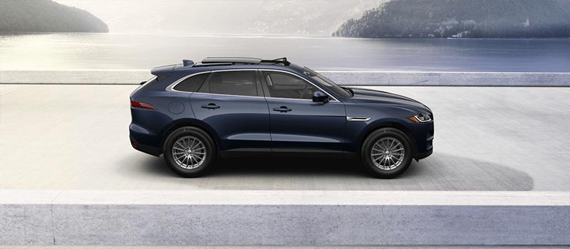 2019 Jaguar F-Pace Loire Blue Metallic