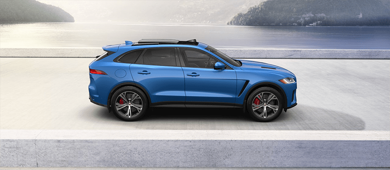 2019 Jaguar F-Pace Ultra Blue Metallic