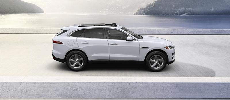 2019 Jaguar F-Pace Yulong White Metallic