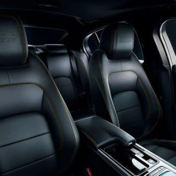 2019 Jaguar XE seating