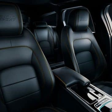 2019 Jaguar XF seating