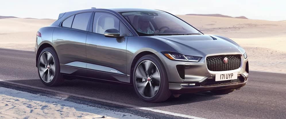 2019 Jaguar I-PACE on Desert Road
