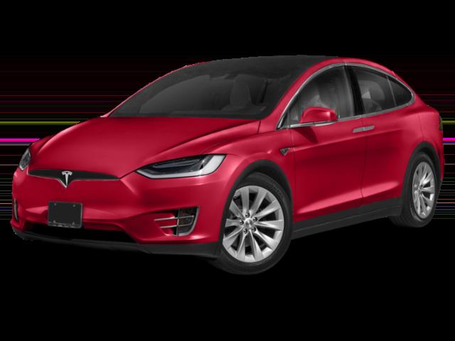 Red 2019 Tesla Model X