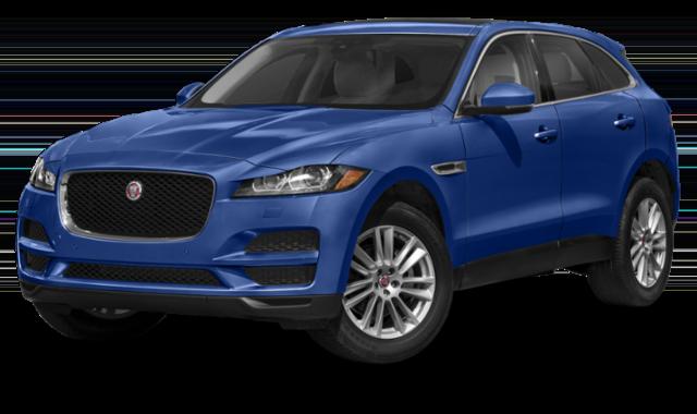 2020 Jaguar Blue F-Pace Image