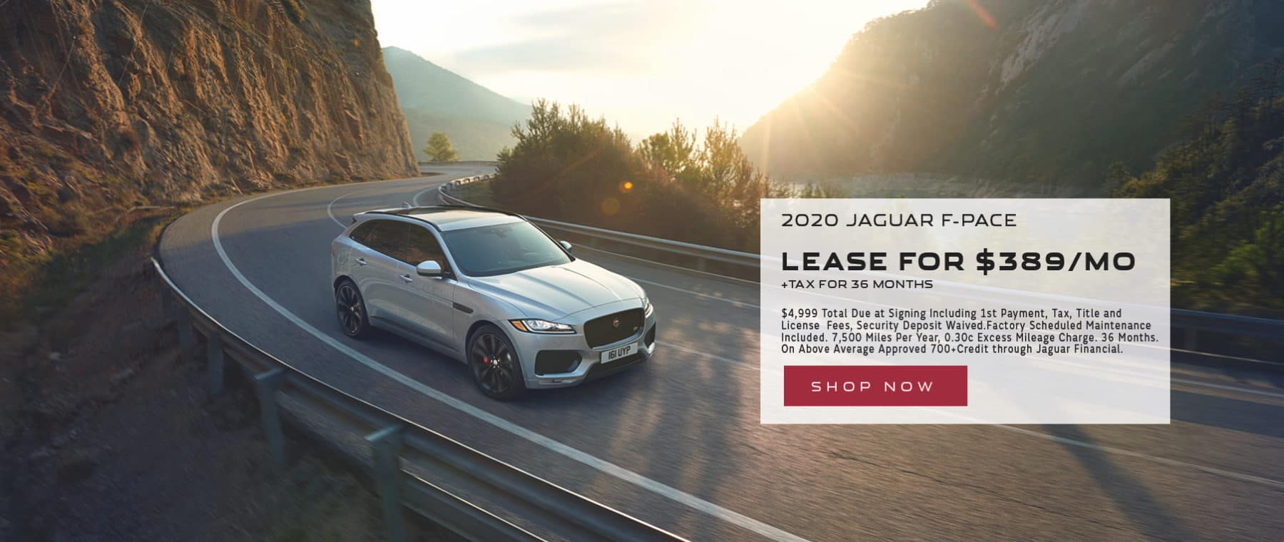 Jaguar Sept. Lease