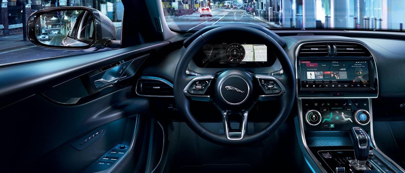 2020 Jaguar XE Interior Technology
